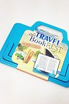 Suport carte/tableta, albastru - Beachy Blue Travel