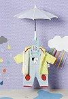 Accesorii Zapf Dolly Moda - Hainute ploaie, 36cm