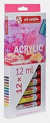 Tub culori acrilice,Art Creation,12ml,12buc/set