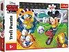 Puzzle Trefl - Mickey Mouse pe terenul de sport, 100 piese