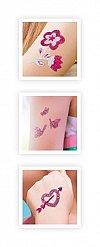Tatuaje cu sclipici Buki France