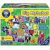 Puzzle de podea Invata alfabetul, 26 piese, poster inclus, Limba Engleza, Orchard Toys