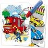 Water Magic, Carte de colorat Vehicule