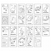 Carte de colorat cu activitati in limba engleza si abtibilduri - Dinozaur, Orchard Toys
