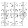 Carte de colorat cu activitati in limba engleza si abtibilduri - Ferma, Orchard Toys