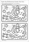 Carte de colorat cu activitati in limba engleza si abtibilduri - Lucruri de Facut, Orchard Toys