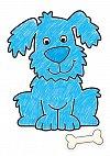 Carte de colorat cu activitati in limba engleza si abtibilduri - Animale, Orchard Toys