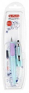 Stilou My.Pen,M,corp turcoaz/violet