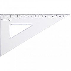 Echer 60/30, 11 cm plastic transparent