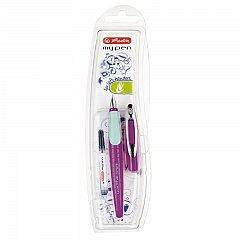 Stilou My.Pen,L,stangaci,mov/turcoaz