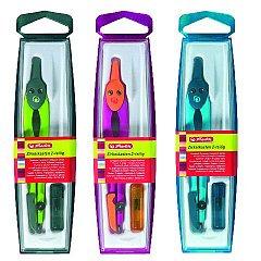 Compas plastic,Herlitz,diverse culori