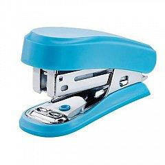 Capsator Novus, capse 24/6, capacitate 12 coli, mini, albastru