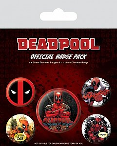 Set 5 insigne Deadpool
