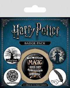 Set 5 insigne Harry Potter (Symbols)