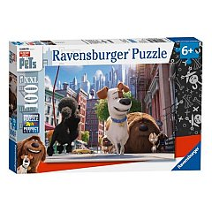 Puzzle Ravensburger - Pets, singuri acasa, 100 piese