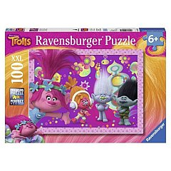 Puzzle Ravensburger - Trolls, 100 piese