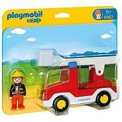 Playmobil-1.2.3.Camion cu pompier