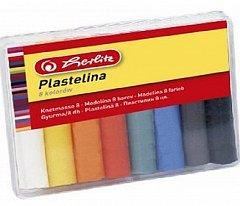 Plastilina Herlitz, 8 culori