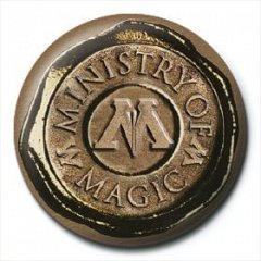 Insigna Harry Potter (Ministry Of Magic Seal)
