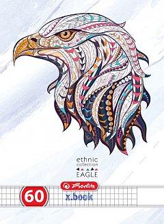 Caiet A4,60f,Ethnic Animals,matematica