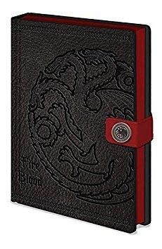 Caiet A5 Clasp Game Of Thrones - Targaryen Premium