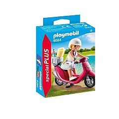 Playmobil-Special Plus,Fata cu scooter
