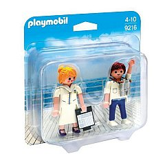 Playmobil-Figurine,Ofiteri nava de croaziera,2buc/set