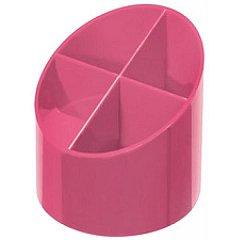 Suport instrumente, 4 compartimente, roz