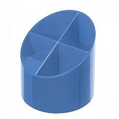 Suport instrumente, 4 compartimente, albastru