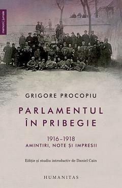 PARLAMENTUL IN PRIBEGIE. 1916-1918. AMINTIRI, NOTE SI IMPRESII