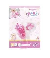 Accesorii Zapf My little Baby Born - Suzeta si biberon, set