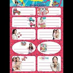 Etichete 20buc/set,Soy Luna