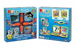Supermag,Kliky-Puzzle magnetic,animale marine,1-4Y