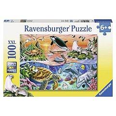 Puzzle Ravensburger - Minunatul ocean, 100 piese