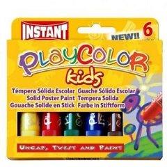 Tempera solida,PlayColor,10g,6b/set