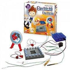 Atelierul de electricitate,Sciences,kit 22 circuite,Buki,+8Y