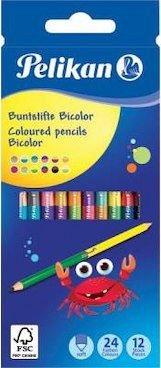 Creioane colorate,12b/set,24cul,Pelikan