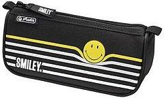 Penar tip borseta Herlitz, triunghiular, Sport, SmileyBlack Stripes