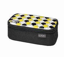 Penar tip borseta Herlitz, Be.Bag Beat Box, Smiley Black Stripes