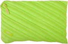 Penar tip borseta ZipIt, 23x2x15 cm, Neon Jumbo, verde