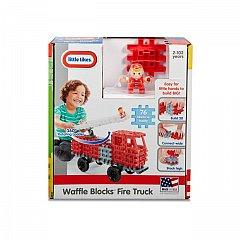 Little Tikes-Set constructie,Masina pompieri,76pcs