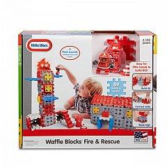 Little Tikes-Set constructie,Sectie de pompieri,89pcs
