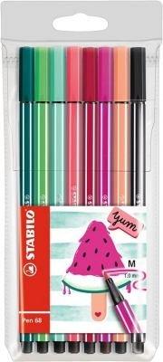 Marker Stabilo Pen 68,8buc/set,Pepene