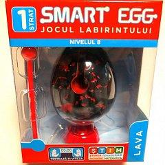 Smart Egg mic,nivelul 8,Lava,Jocul labirintului