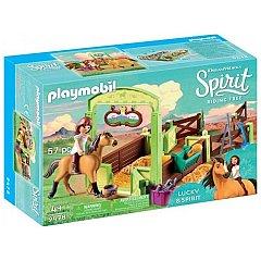 Playmobil-Set ingrijire cai,Lucky si Spirit