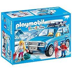Playmobil-Schiori si masina de teren