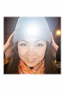 Caciula cu LED Beamie, gri -DZine