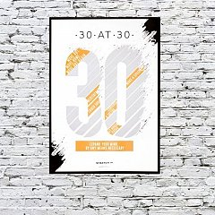 Poster razuibil Scratch Posters 30 At 30
