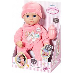 My first Baby Annabell,Papusa,ochi somnorosi,36cm,cu biberon