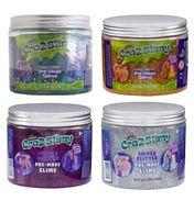 Crazslimy,slime glitter,mov,355ml